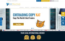 CM Trading Forex Homepage