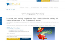 Promotions at CM Trading