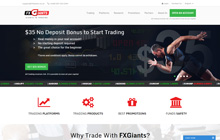 FXGiants Forex Homepage