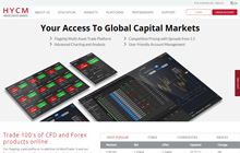 HYCM Forex Homepage