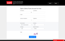 Create a Demo Account at IronFX