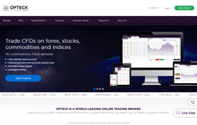 Opteck Binary Options Homepage