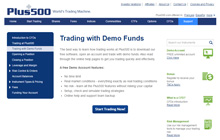 Create a Demo Account at Plus500