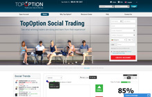 Top Option Binary Homepage