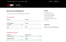 Create a Demo Account at XM