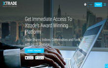 Xtrade Forex Homepage
