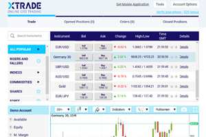 What is xtrade forex